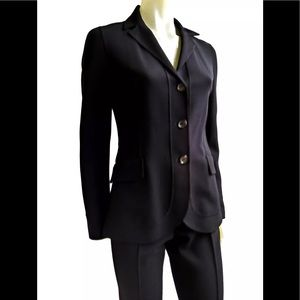 Celine Other - ⏳CELINE Finition Vintage Black Wool Pant Suit